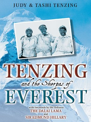 cover image of Tenzing and the Sherpas of Everest
