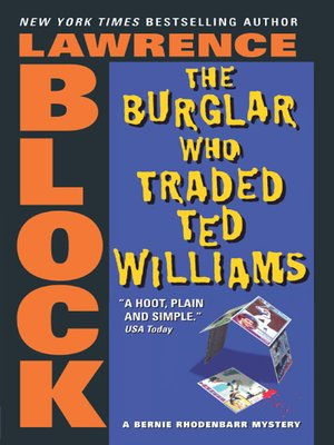 cover image of The Burglar Who Traded Ted Williams
