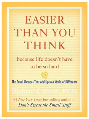 cover image of Easier Than You Think