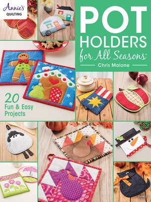 cover image of Pot Holders for All Seasons