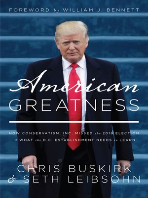 cover image of American Greatness