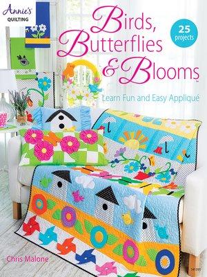 cover image of Birds, Butterflies, & Blooms