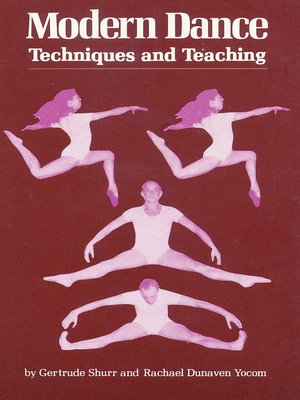 cover image of Modern Dance Techniques and Teaching
