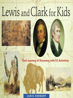 cover image of Lewis and Clark for Kids