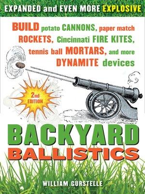 cover image of Backyard Ballistics