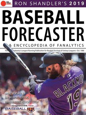 cover image of Ron Shandler's 2019 Baseball Forecaster