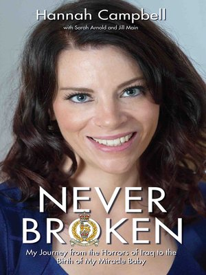 cover image of Never Broken--My Journey from the Horrors of Iraq to the Birth of My Miracle Baby