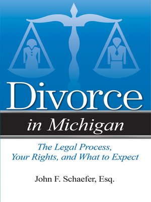 cover image of Divorce in Michigan