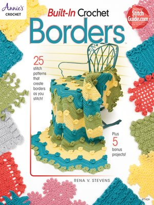 cover image of Built-In Crochet Borders