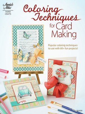 cover image of Coloring Techniques for Card Making