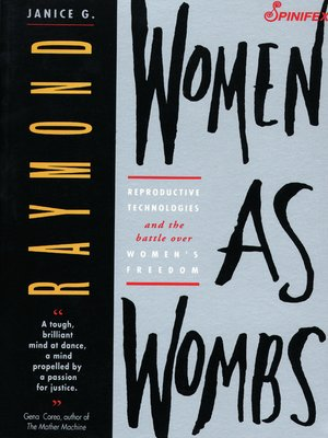 cover image of Women as Wombs