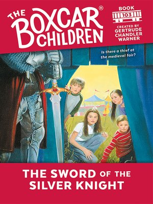 cover image of The Sword of the Silver Knight