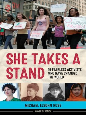 cover image of She Takes a Stand