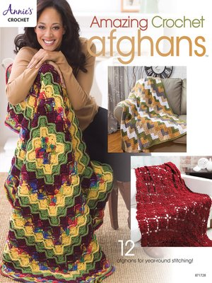 cover image of Amazing Crochet Afghans