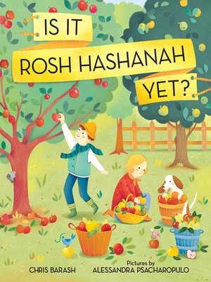 cover image of Is It Rosh Hashanah Yet?