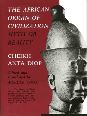 cover image of The African Origin of Civilization