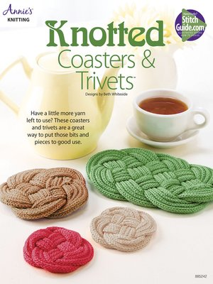 cover image of Knotted Coasters & Trivet
