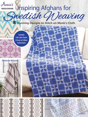 cover image of Inspiring Afghans for Swedish Weaving