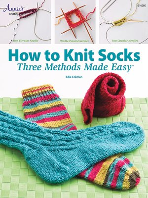 cover image of How to Knit Socks