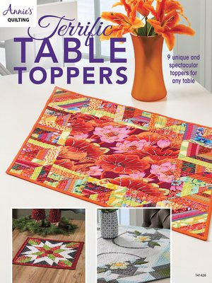 cover image of Terrific Table Toppers