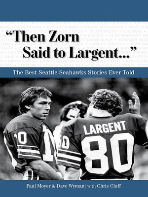 "cover image of ""Then Zorn Said to Largent. . ."""