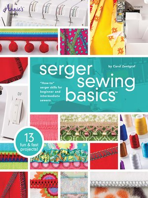 cover image of Serger Sewing Basics