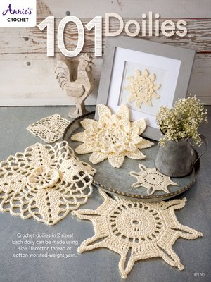 cover image of 101 Doilies