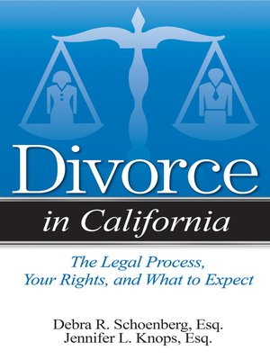 cover image of Divorce in California