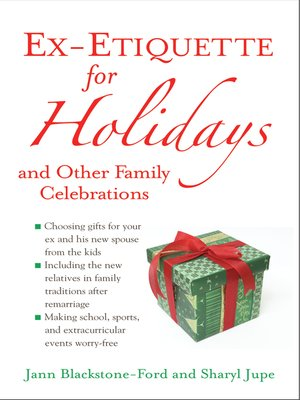 cover image of Ex-Etiquette for Holidays and Other Family Celebrations