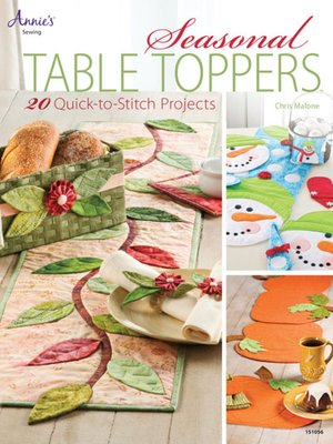 cover image of Seasonal Table Toppers