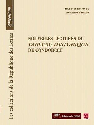 cover image of Nouvelles lectures du tableau historique de condorcet