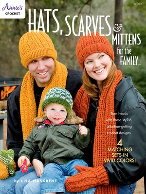 cover image of Hats, Scarves & Mittens for the Family