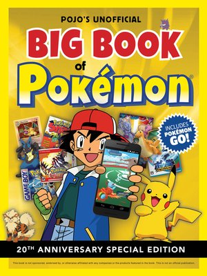 cover image of Pojo's Unofficial Big Book of Pokemon