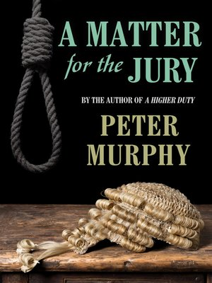 cover image of A a Matter for the Jury