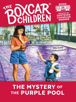 cover image of The Mystery of the Purple Pool