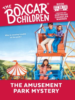cover image of The Amusement Park Mystery
