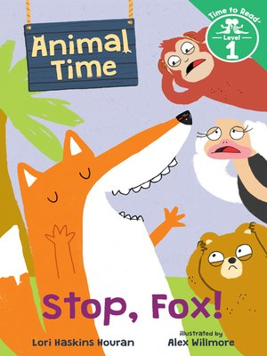cover image of Stop, Fox!