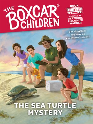 cover image of The Sea Turtle Mystery