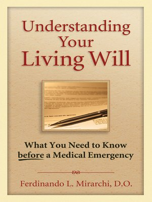 cover image of Understanding Your Living Will