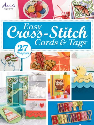 cover image of Easy Cross-Stitch Cards & Tags