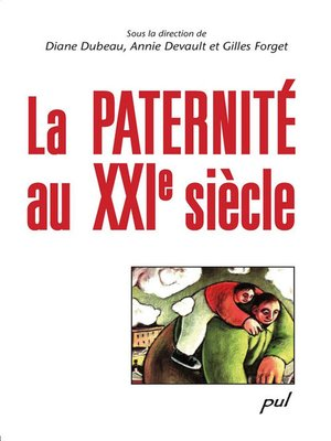 cover image of La paternité au XXIe siècle