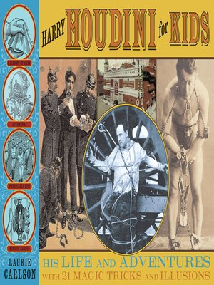cover image of Harry Houdini for Kids