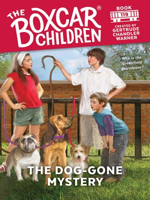 cover image of The Dog-Gone Mystery