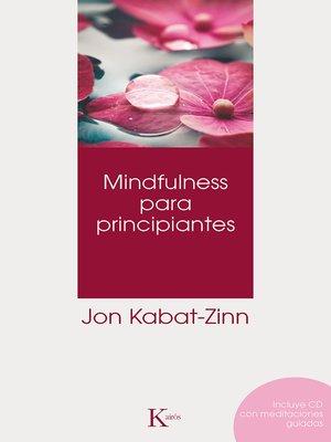 cover image of Mindfulness para principiantes
