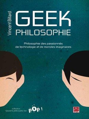 cover image of Geek Philosophie