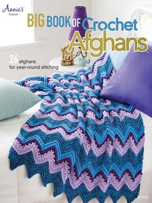 cover image of Big Book of Crochet Afghans