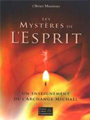 cover image of Les mystères de l'esprit
