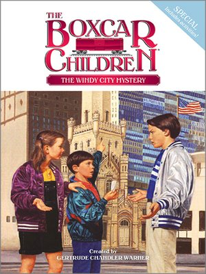 cover image of The Windy City Mystery