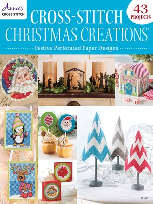 cover image of Cross-Stitch Christmas Creations