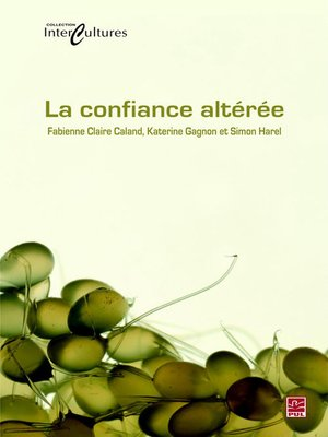cover image of La confiance altérée